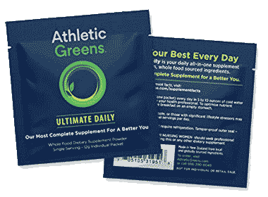 Athletic Greens Travel Sachets