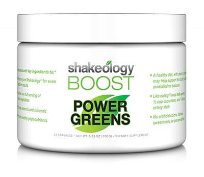 Shakeology Boost Power Greens