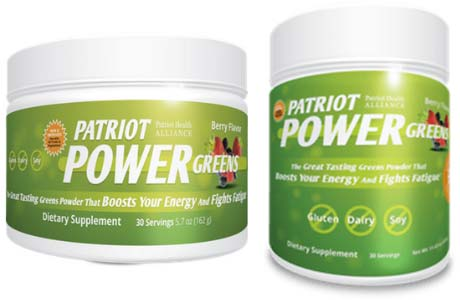 Patriot Power Greens Single and Double sizes