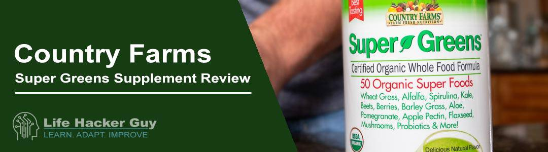 Country Farms Super Greens Review
