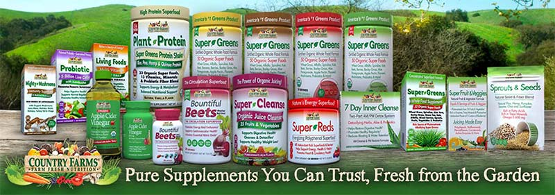 Country Farms supplements