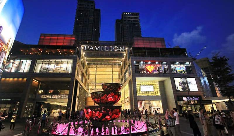 Pavillon Shopping Mall in KL