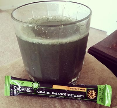 It Works! Greens on the go sachet