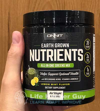Onnit EGN review sample
