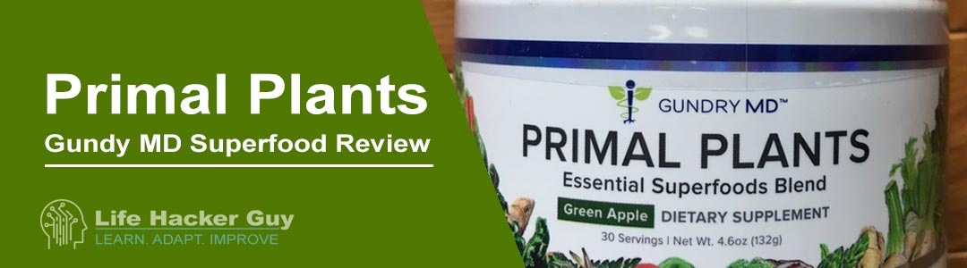 Gundy MD Primal Plants review