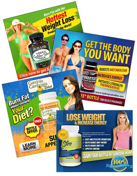 Diet Pill Free Trial Ads