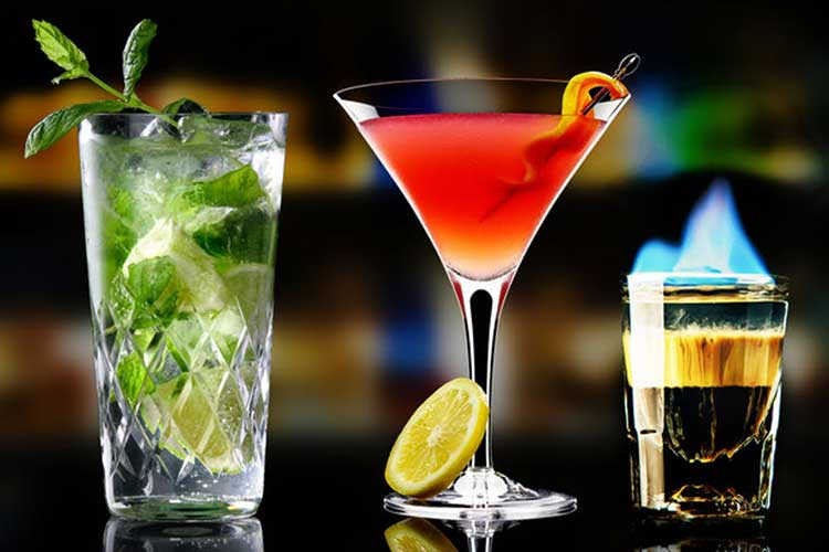 Favourite alcoholic drinks