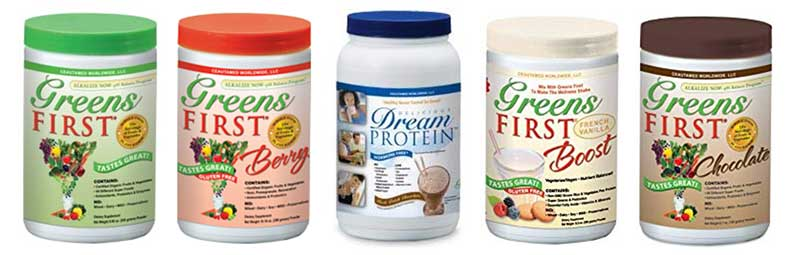 Greens First available flavors