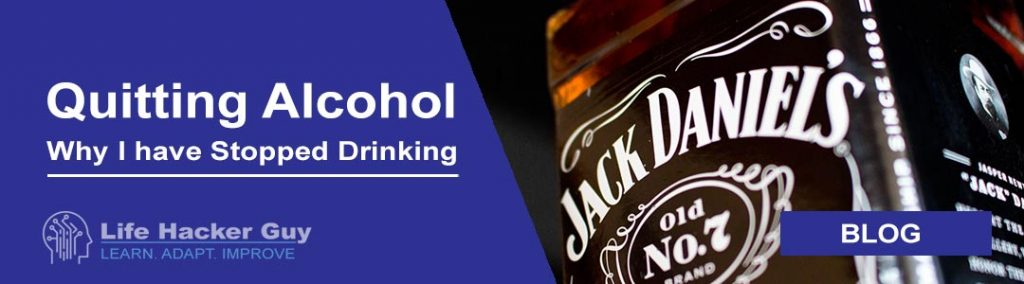 Quit drinking alcohol header