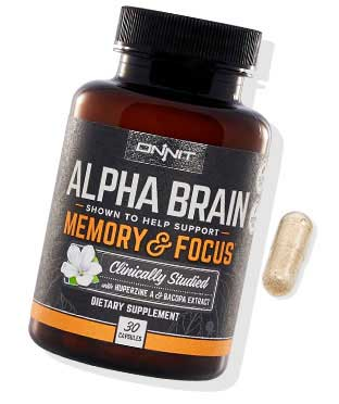ONNIT Alpha Brain supplement
