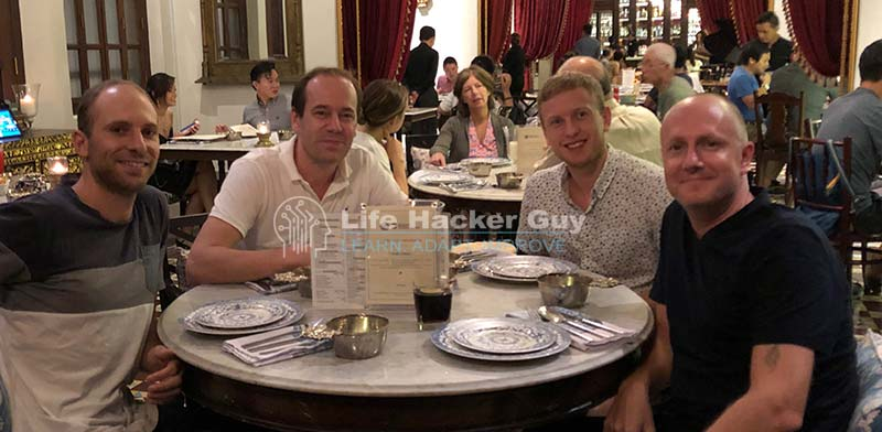 Fine dining with the Dutchies in Malaysia