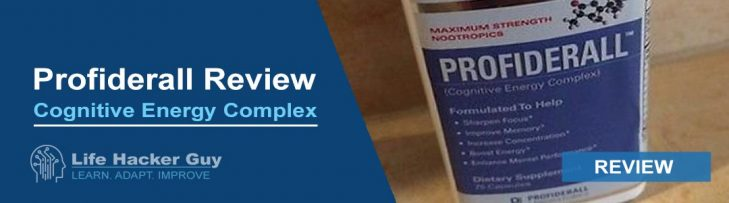Profiderall Cognitive Energy Complex Review