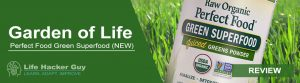 Garden of Life Perfect Green Superfood