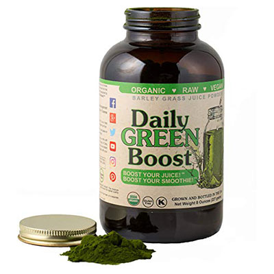Daily GREEN Boost open tub