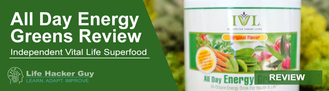 All Day Energy Greens by IVL Review