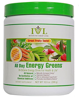 IVL All Day Energy Greens review