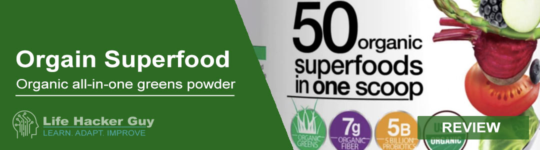 Orgain Organic Superfood Powder review