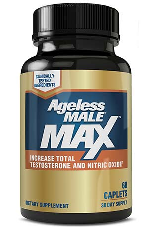 Ageless Male Max bottle