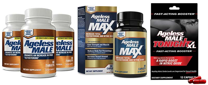 Ageless Male supplements