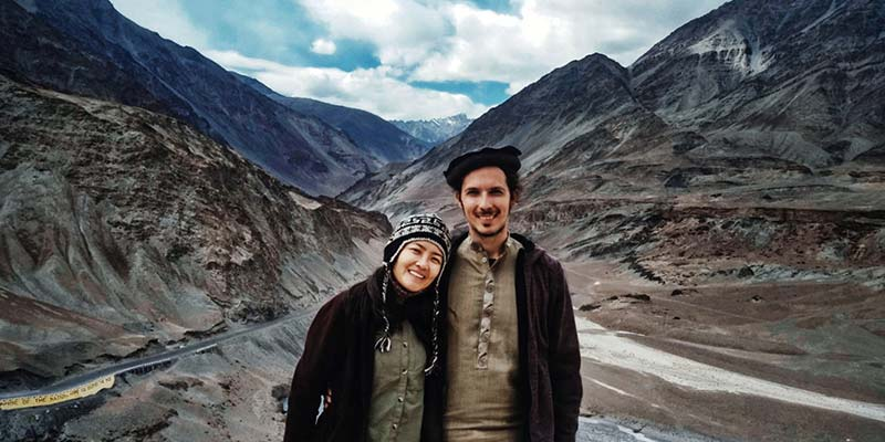 Marco and wife in Ladakh