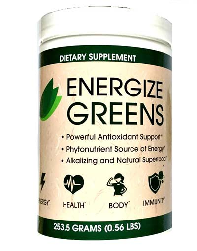 Energize Greens supplement