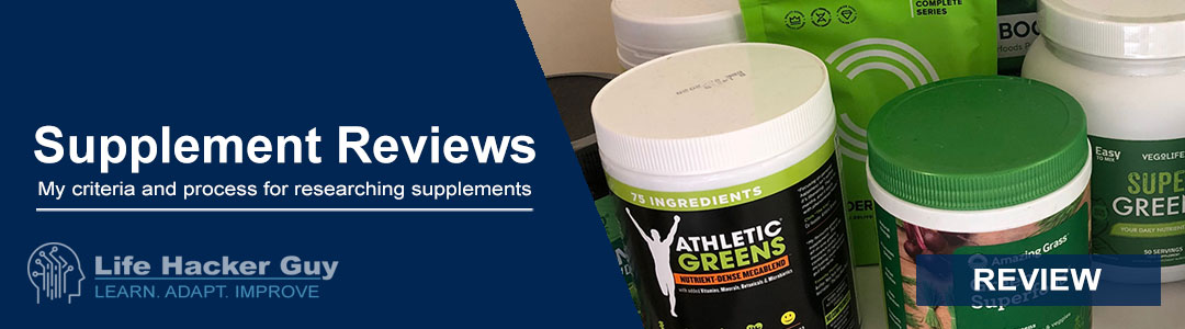 Supplement Review Guide and Criteria