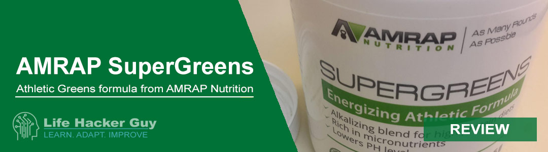 AMRAP Supergreens Review