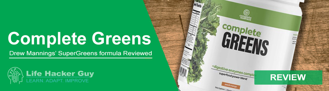 Complete Greens Supergreens review